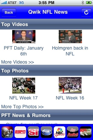 Qwik NFL News screenshot-4