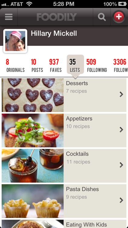 Foodily Recipe Sharing with Friends screenshot-3