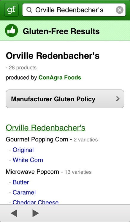 GF Overflow - Gluten Free Product Search screenshot-3