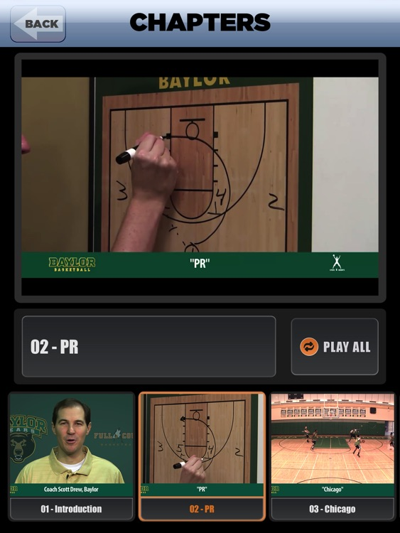 Baylor Man To Man Quick Hitters - With Coach Scott Drew - Full Court Basketball Training Instruction - XL