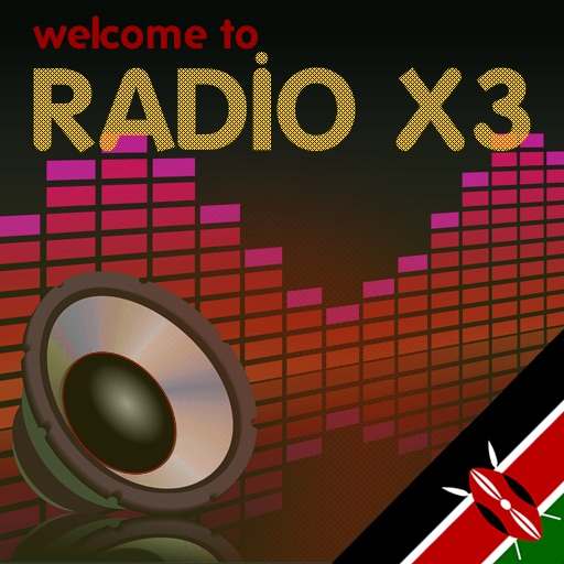 X3 Kenya Radio icon