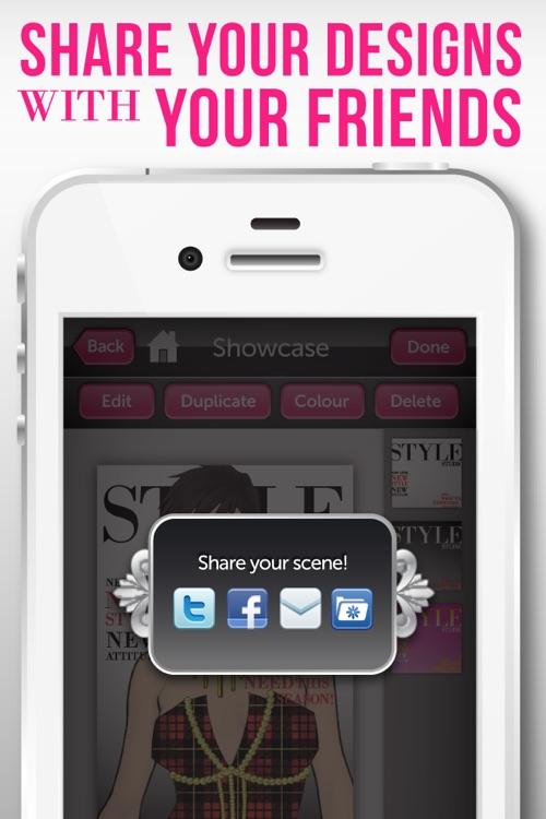 Style Studio : Fashion Designer screenshot-4