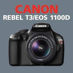 Canon REBEL T3 EOS 1100D