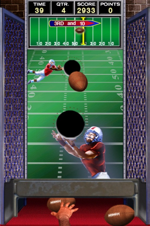 Arcade QB Pass Attack™ Football Free screenshot-1