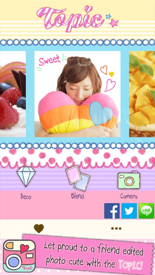 TOPIC-Photo Editor mit einer großen Anordnung verschiedener FunktionenScreenshot von 1