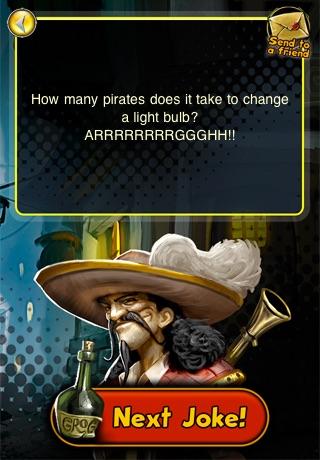 Pirates of Black Cove: 1001 Pirate Jokes