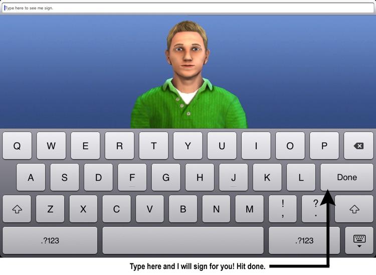 Sign 4 Me for iPad - A Signed English Translator