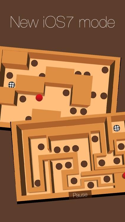 Wooden Labyrinth 3D Free screenshot-4