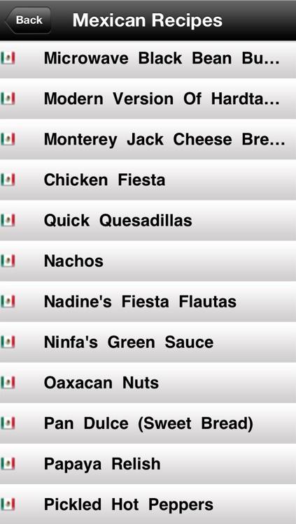 190 Mexican Recipes screenshot-4