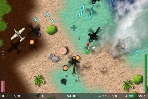 Blue Skies Lite, game for IOS