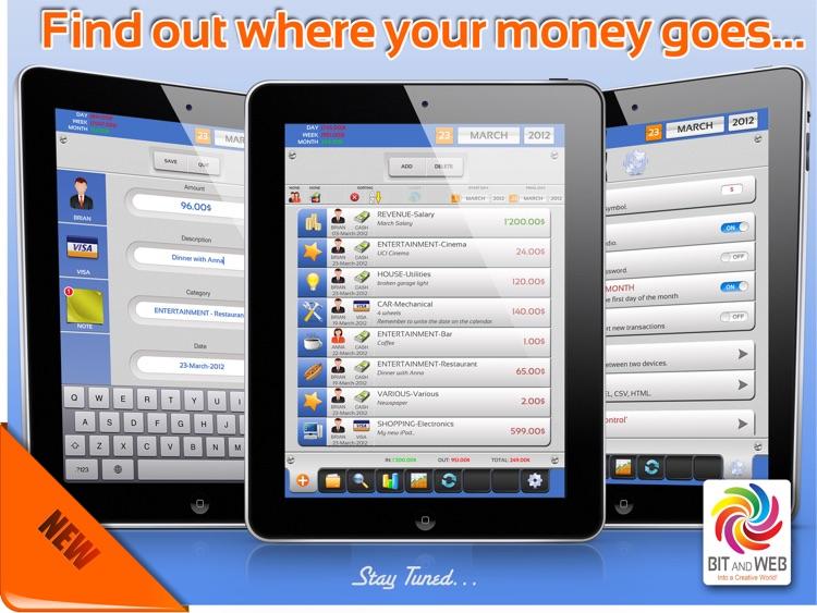 Expenses Under Control HD screenshot-4
