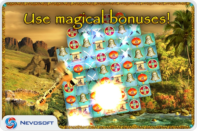 10 Talismans: oriental match 3 puzzle