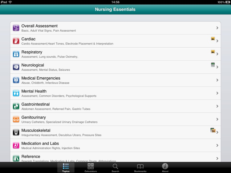 Nursing Essentials for iPad