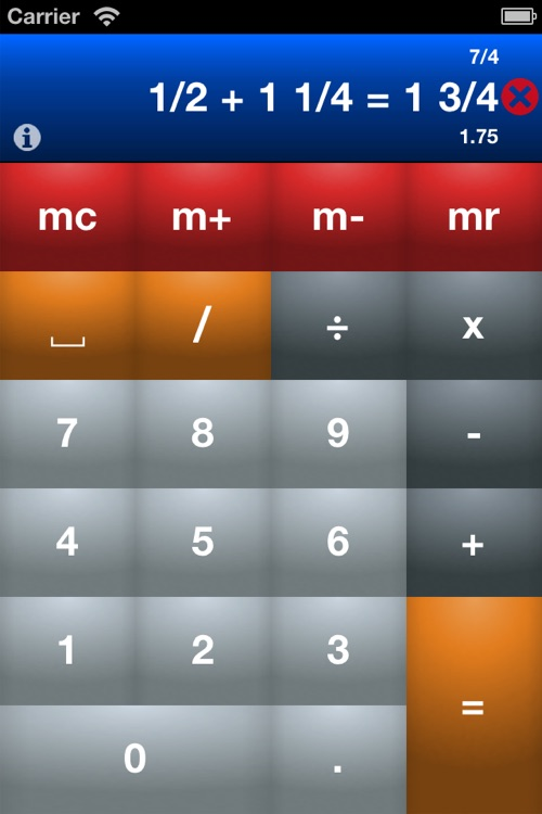 Fraction Calculator Pro