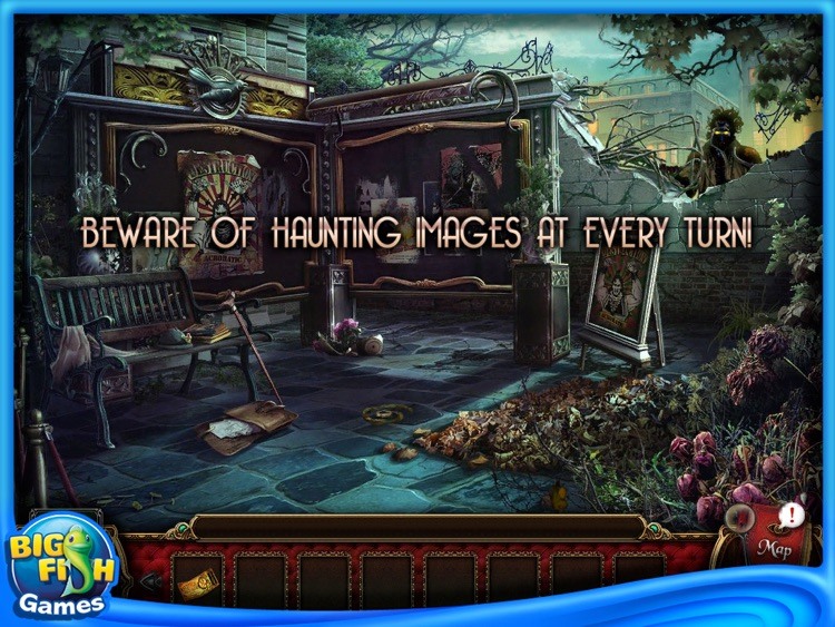 Macabre Mysteries: Curse of the Nightingale Collector's Edition HD screenshot-4