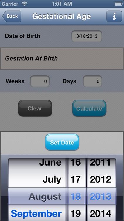 NICU Calculator screenshot-3