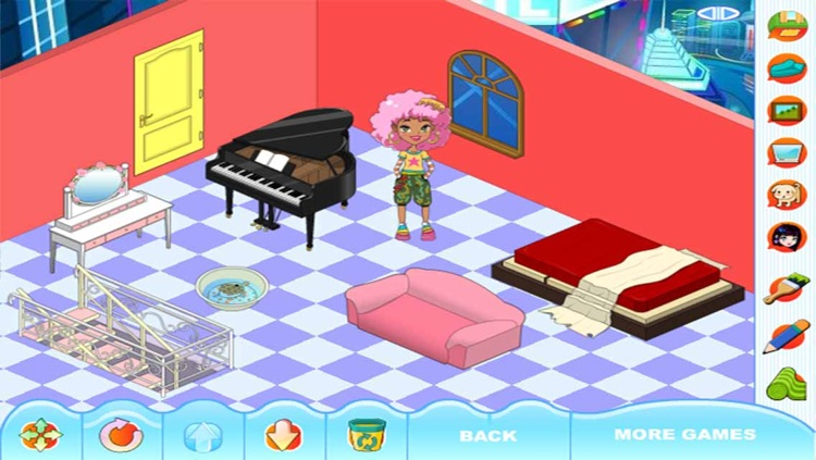 Beauty Room Design : Home Makeover & Decorate screenshot-3