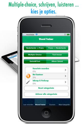 Zakelijke Franse Woorden Leren: Verbeter je Franse uitspraak en woordenschat - Gratis screenshot three