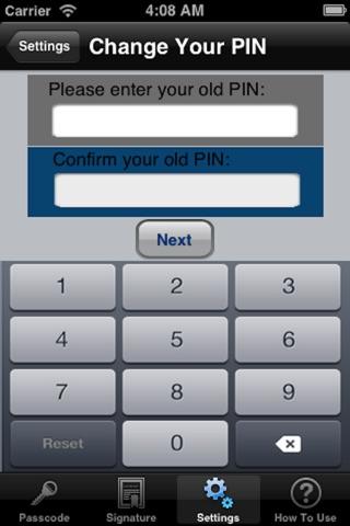Screenshot of SESAMI Mobile