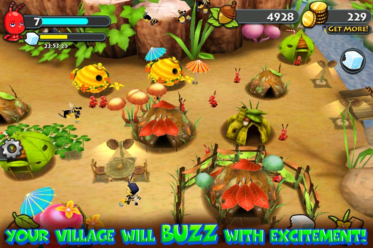 Bug Village HD screenshot-4
