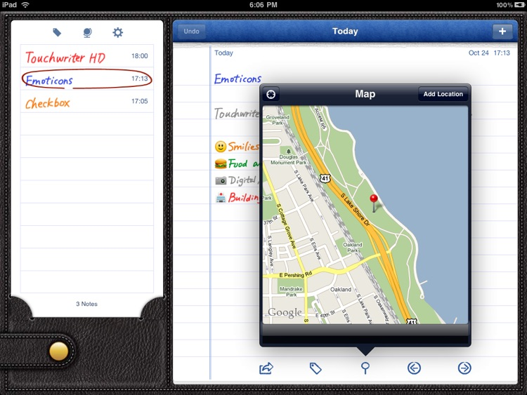 Touchwriter HD screenshot-3