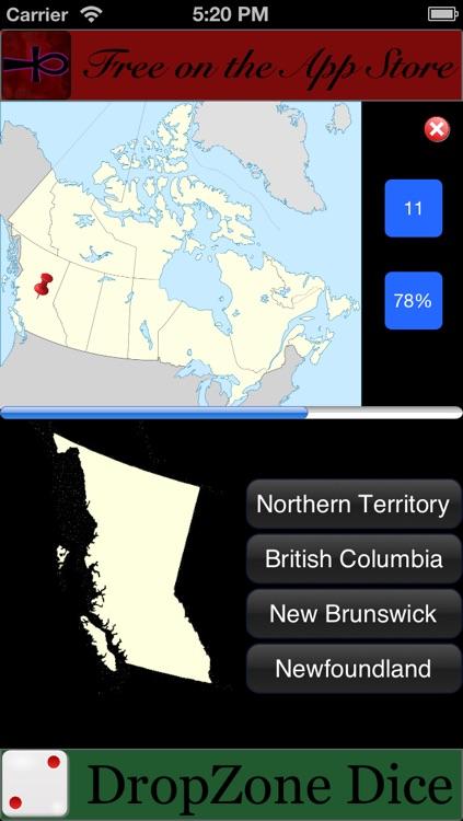 GeoProvinces - Provinces of Canada and Australia