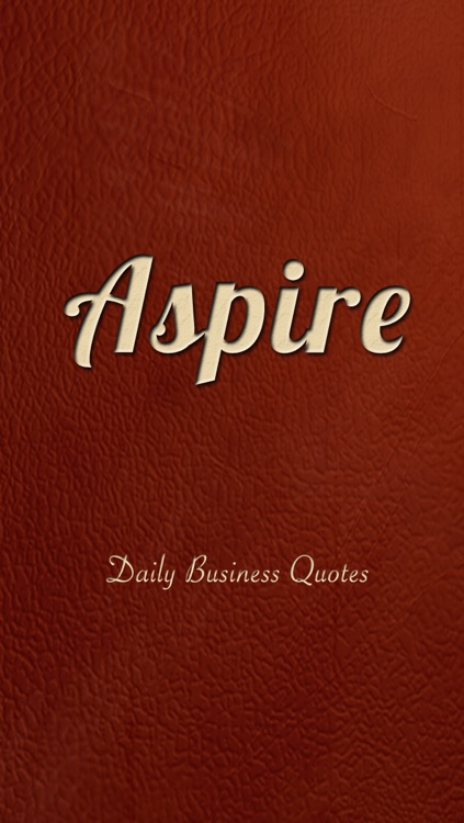 Aspire: Daily Business Quotes and Insights screenshot-0