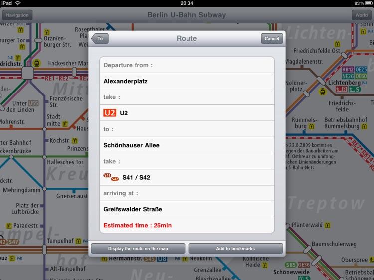Berlin Subway for iPad