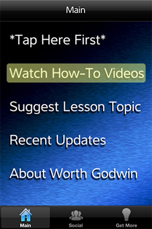 Video Tips for iPhone - Help by Worth Godwin screenshot-2