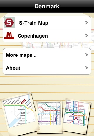 Denmark Subway Maps (Copenhagen) screenshot-0