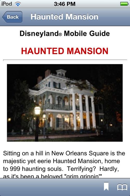 Disneyland Mobile Guide screenshot-4