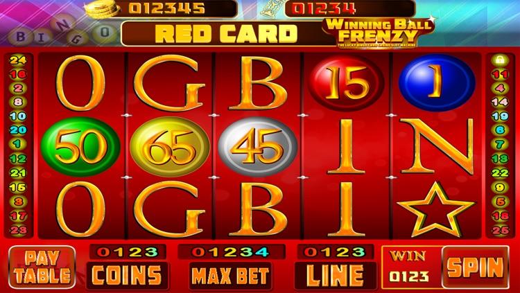 Winning Ball Frenzy : The Lucky Bingo Card Casino Slot Machine - Free Edition