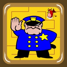 Activities of Police and Robber Maze (catch the money before the crook)