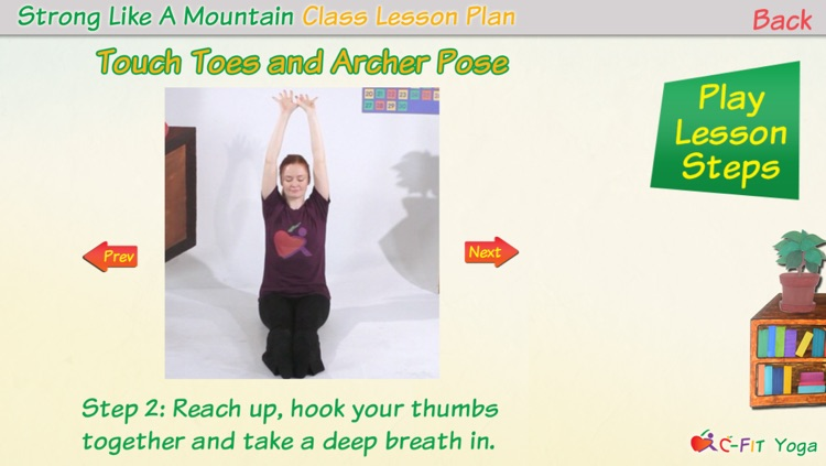 C-Fit Yoga - Classroom Fitness screenshot-1