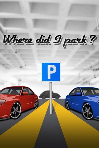 Where did I park my car?