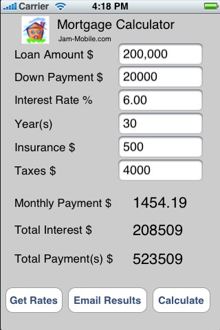 Mortgage Loan Payment Calculator Professional