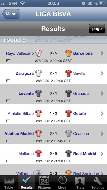 LIGA BBVA - LIGA Adelante [Spain] screenshot-1