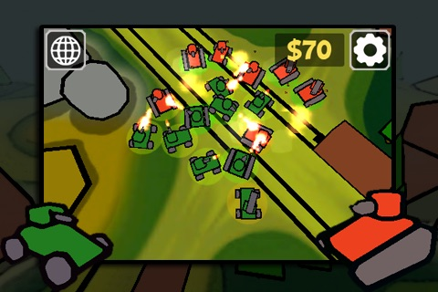 Tap Tanks - Doodle Style 3D RTS screenshot-4