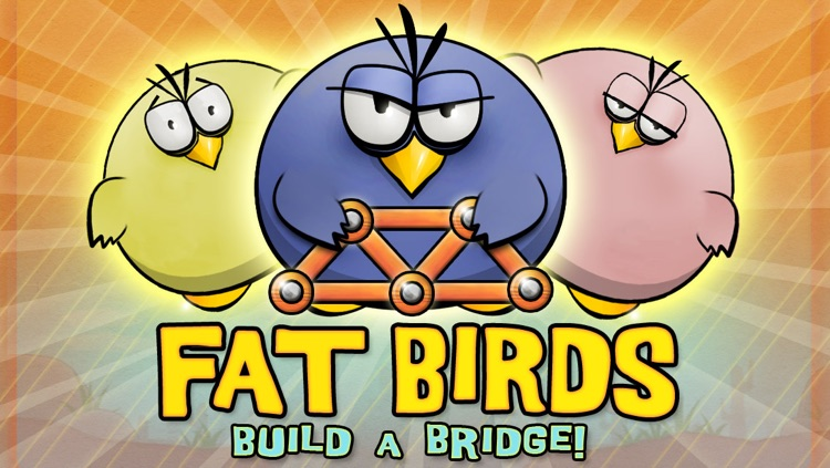 Fat Birds Build a Bridge! screenshot-4