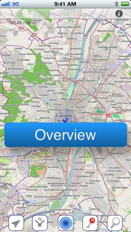 Budapest Offline Map screenshot-4