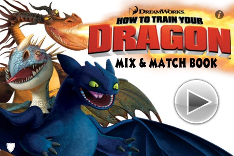 How To Train Your Dragon Mix & Match Book
