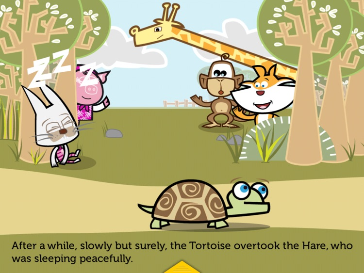 THE TORTOISE AND THE HARE. ITBOOK STORY-TOY. HD screenshot-3