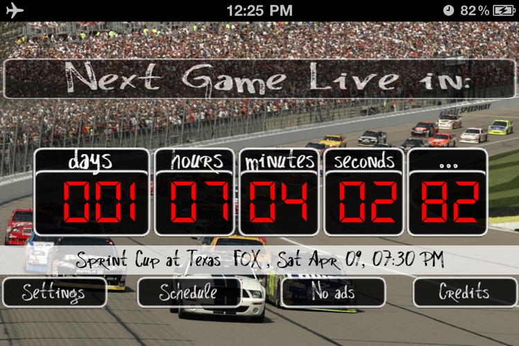 Next Game Live for NASCAR