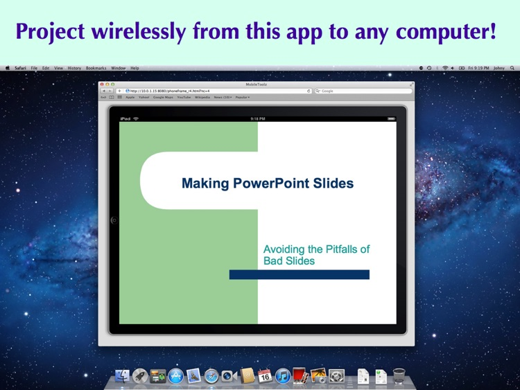 Mobile Presenter Pro - Wireless Screen Sharing and Projection for iPad screenshot-0