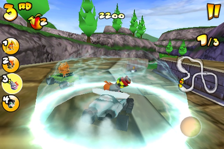 Crash Bandicoot Nitro Kart 2 screenshot-3