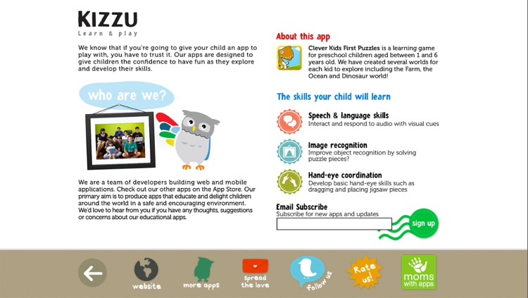 Clever Kids - First Puzzles Learning Game for Children screenshot-4
