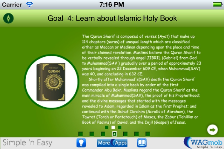Learn Islamic Culture by WAGmob screenshot-0