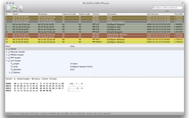 Cocoa Packet Analyzer on the Mac App Store