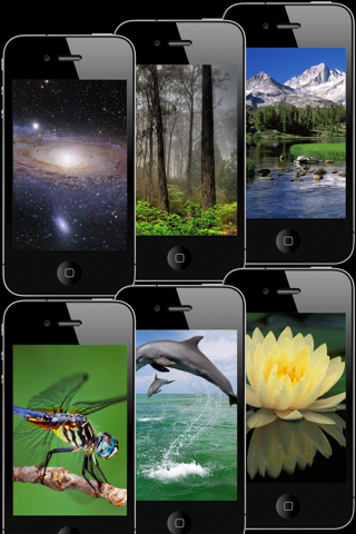 HD Wallpapers & Backgrounds for iPhone/iPod touch Screenshot 3