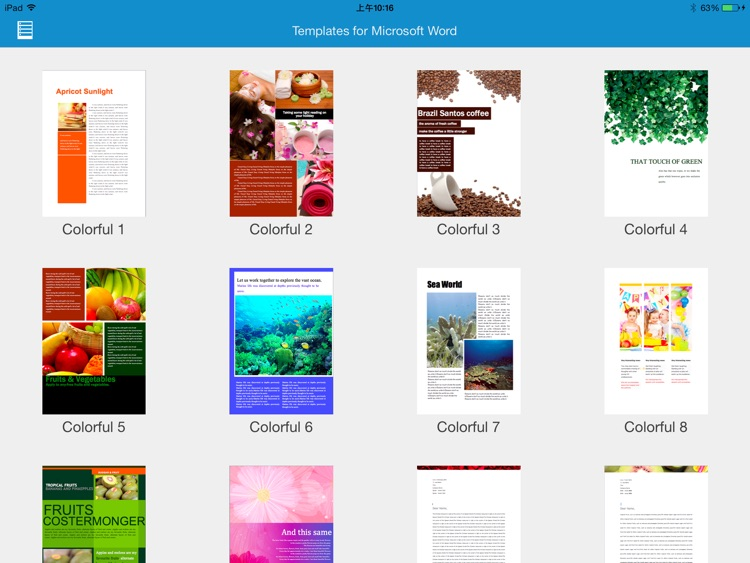 Templates for Microsoft Word Free screenshot-2